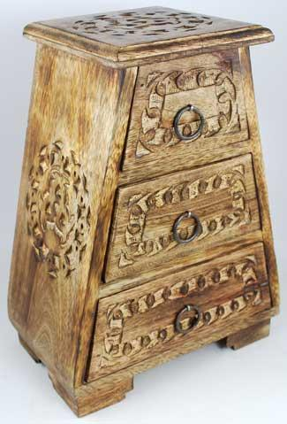 Celtic Wooden Cupboard