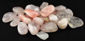 1 Lb Rose Quartz Tumbled Stones