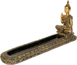 "2"" Brass Gold Incense Burner"