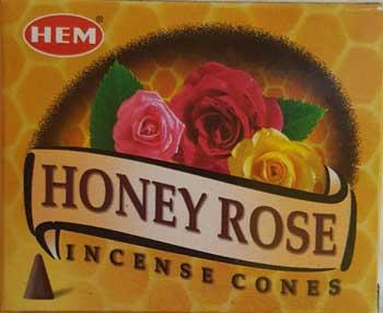 Honey Rose Hem Cone 10 Pack