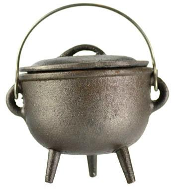 Plain Cast Iron Cauldron 4
