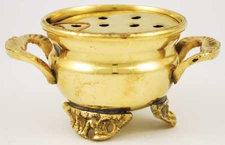 Brass Cauldron With Screen Burner 2