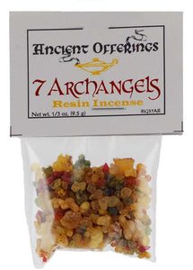 7 Archangels Resin Incense 1-3oz