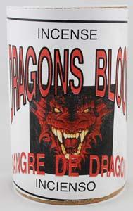 Dragons Blood Powder Incense 1 3-4 Oz