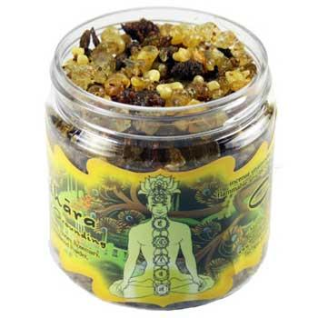 2.4oz Jar Muladhara Chakra Resin Incense