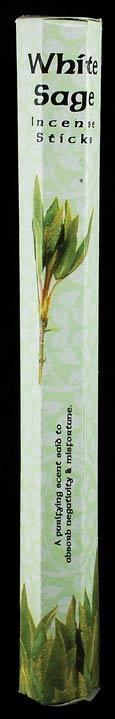 White Sage Stick Incense 20 Pack