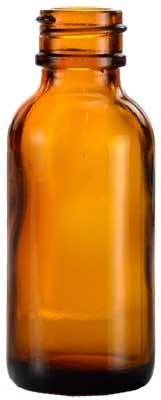 1 Oz Amber Bottle Only