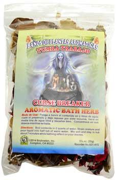1 1-4oz Curse Breaker Aromatic Bath Herb