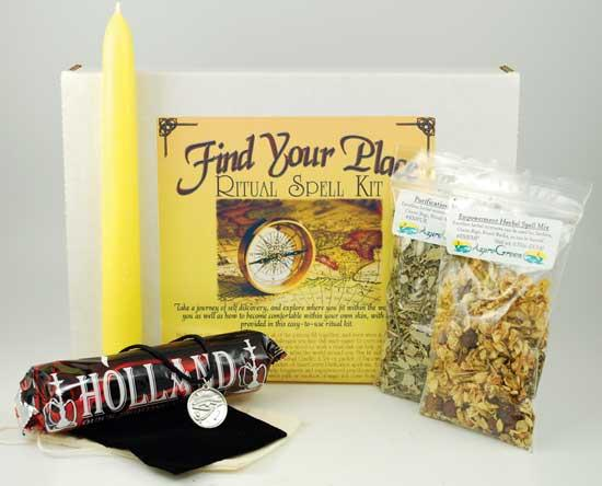Find Your Place Boxed Ritual Kit