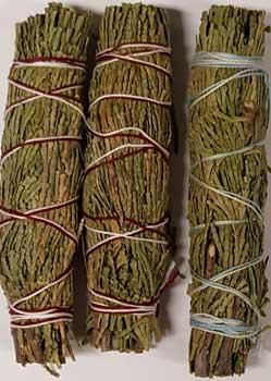 Cedar Smudge Stick 3-pack 4