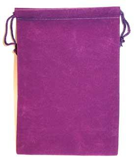 Purple Velveteen Bag