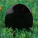 Large Black Obsidian Scrying Mirror 5.5cm*7.3cm