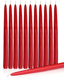 "Dripless Taper Candles 15"" Inch Set Of 12"