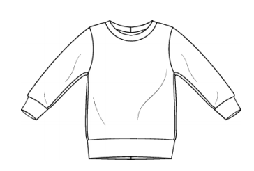 Sweatshirts - Bigger Kids All Jersey Fabrics