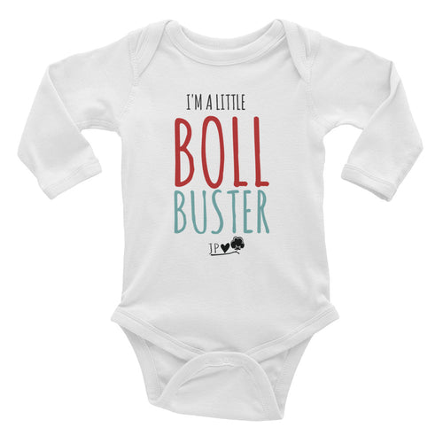 Colorful Boll Buster onesie Infant Long Sleeve Bodysuit