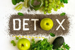 detox with apple spelled out