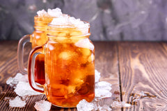 best way to make cold brewed iced tea in mason jars