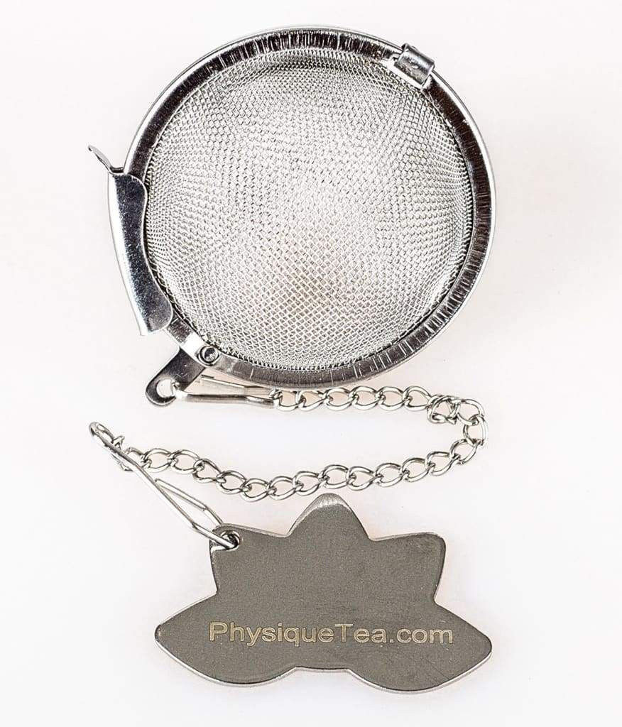 Metal Tea Ball With Lotus Flower Physique Tea