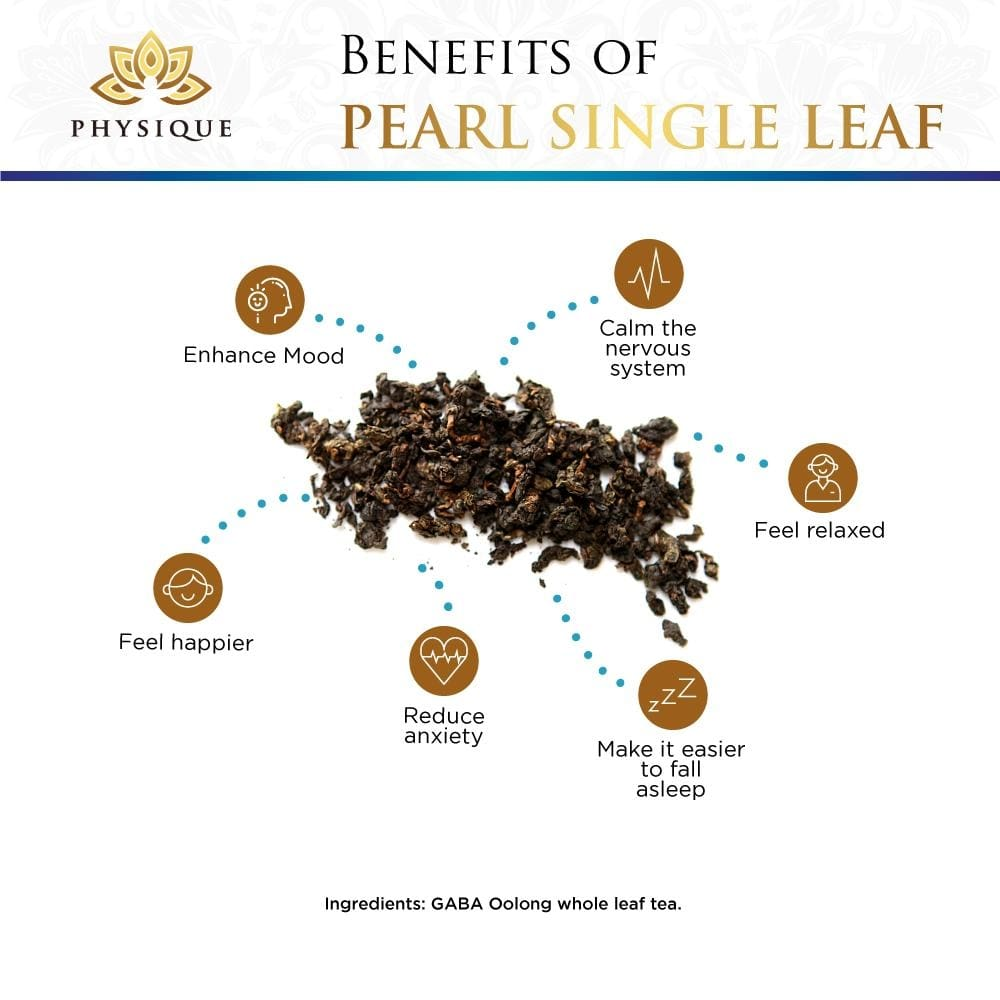 Pearl Relaxing and Sleepy Tea- Large - Physique Tea