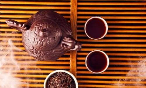 Rich Earthy Pu-erh Liver Rejuvenating Tea, Aged for 20 Years - Physique Tea
