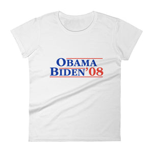 Women's Obama Biden short-sleeve t-shirt