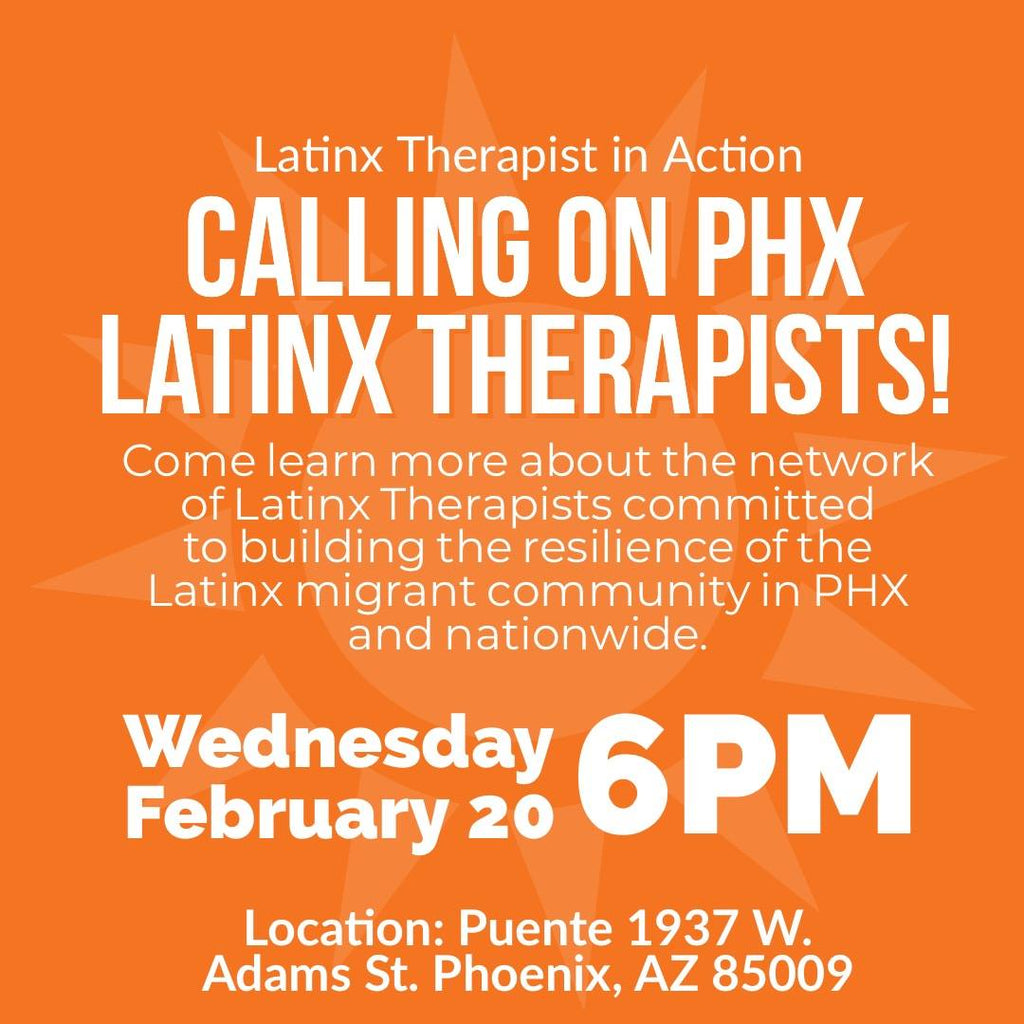 2/20/19 Latinx Therapists Meetup