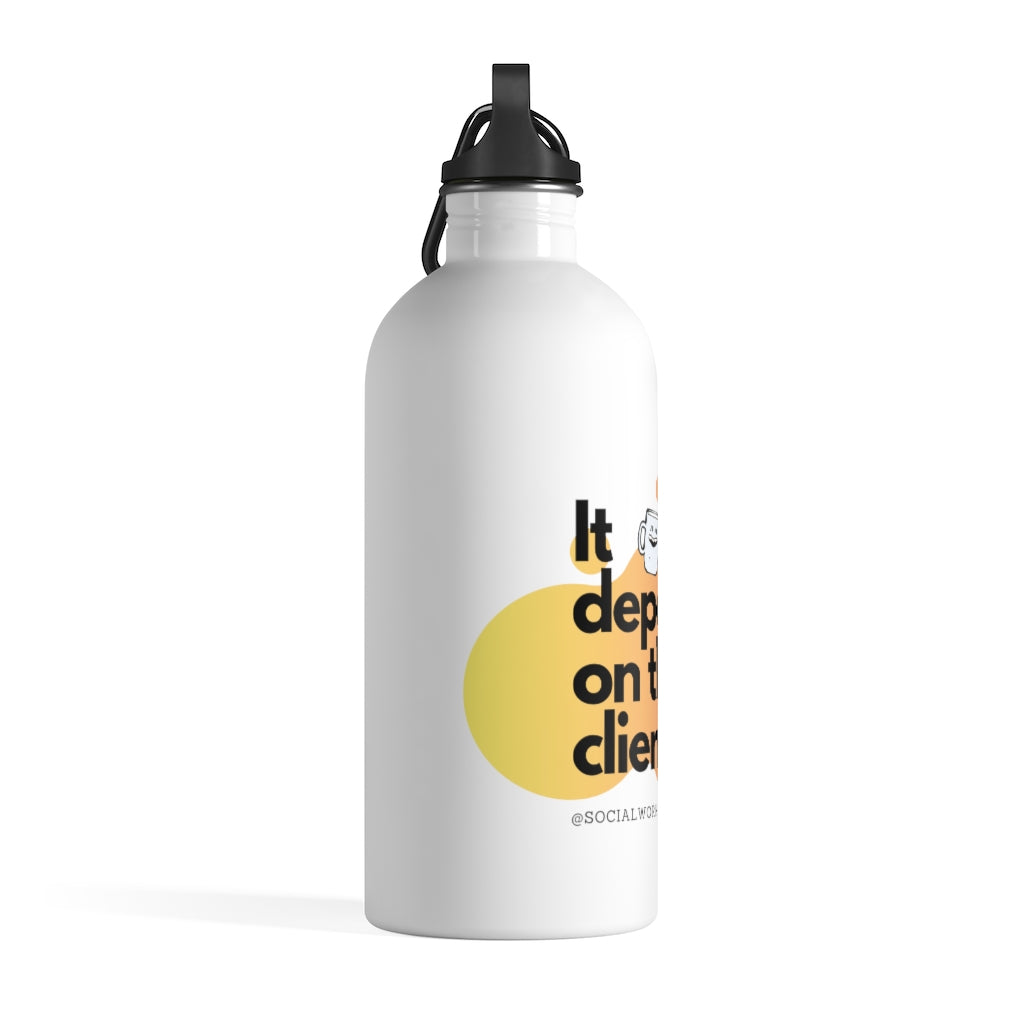 Depends on client - Stainless Steel Water Bottle