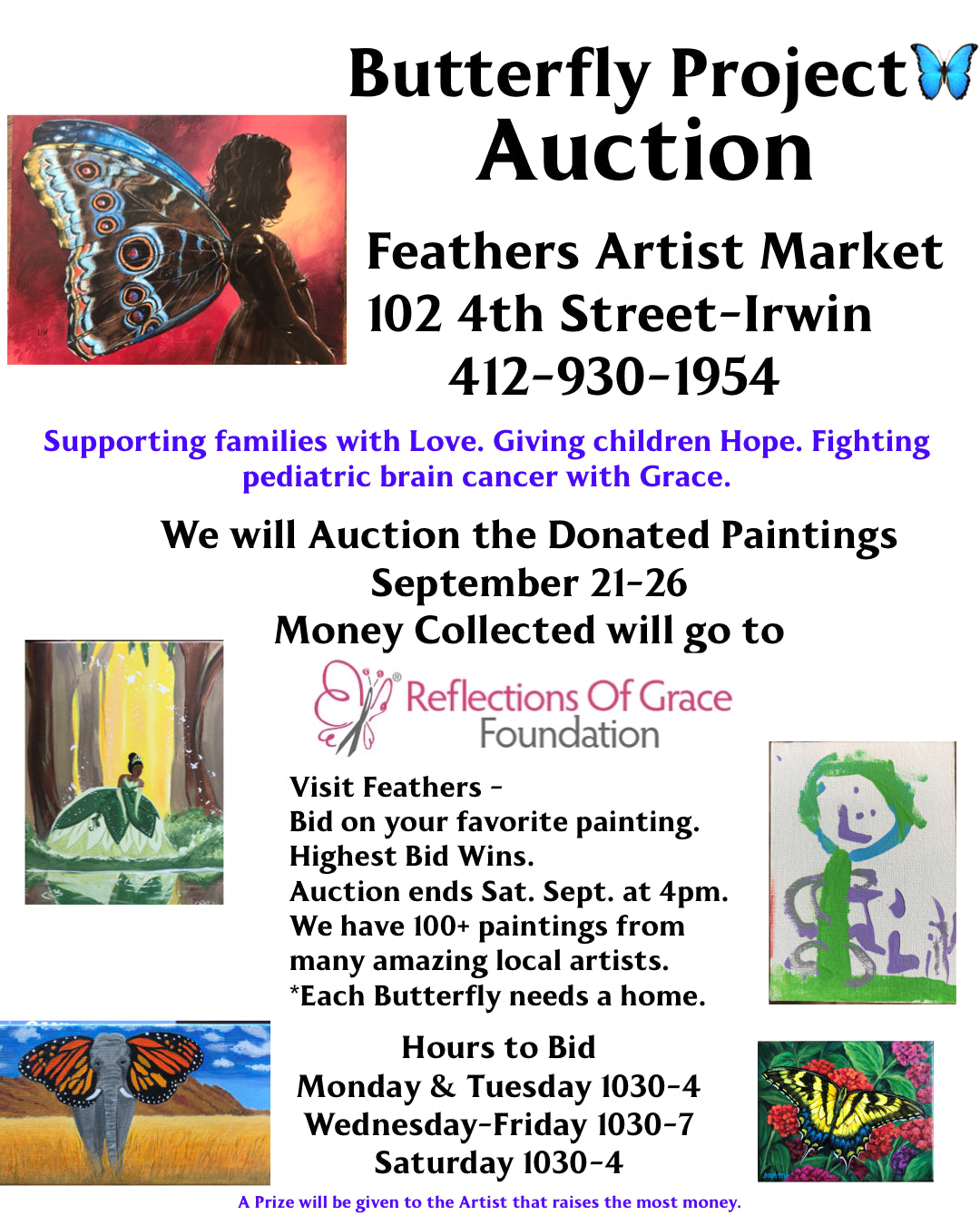 Butterfly Project Auction