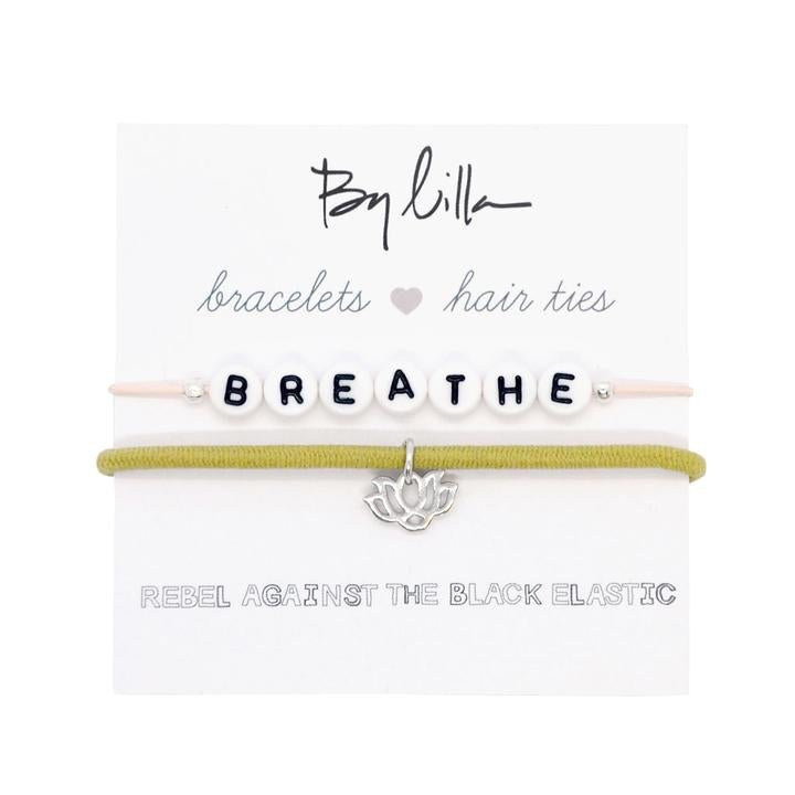 By Lila Hair Ties With a Message