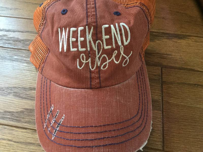 Hat- Weekend Vibes