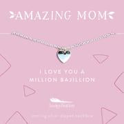Lucky Feather- Mom Necklace Bajillion