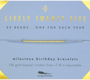 Lucky Feather- Birthday Bracelets