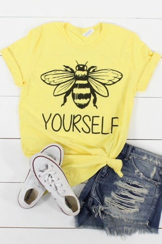 T-Shirts-Bee Yourself
