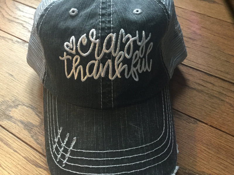 Hat- Crazy Thankful
