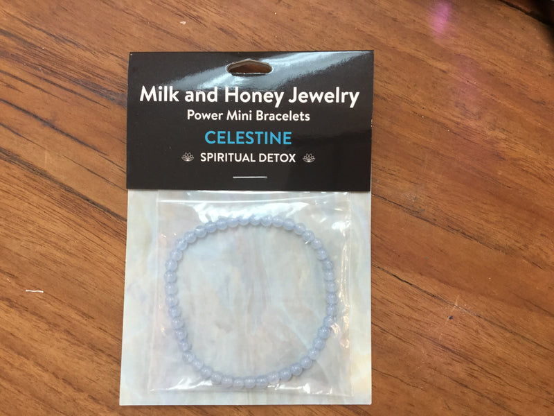 Milk and Honey Carded Power Mini Bracelets