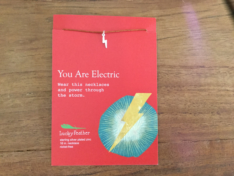 Lucky Feather- You are Electric