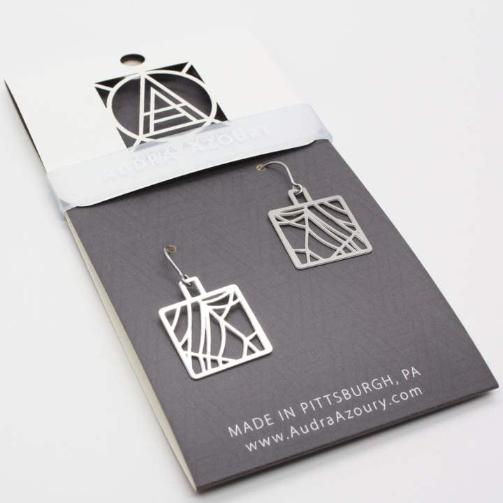 Cobweb Earrings