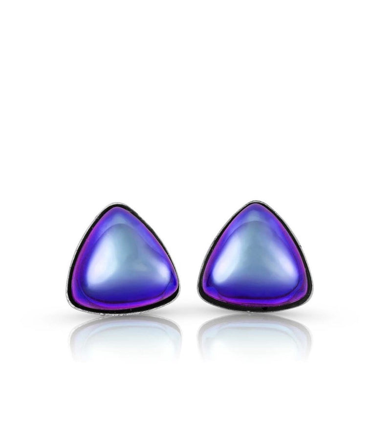 LeightWorks Triangle Stud Earrings