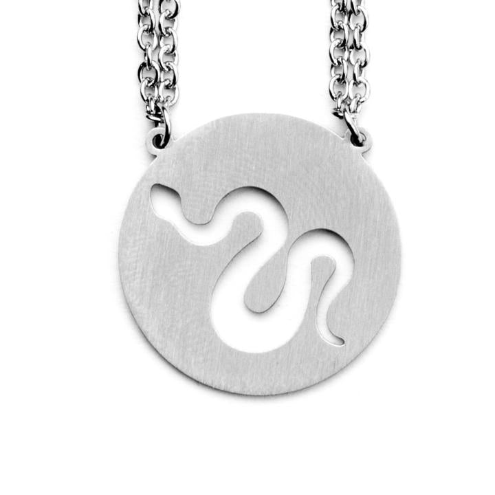Spirit Animal Necklace- Snake
