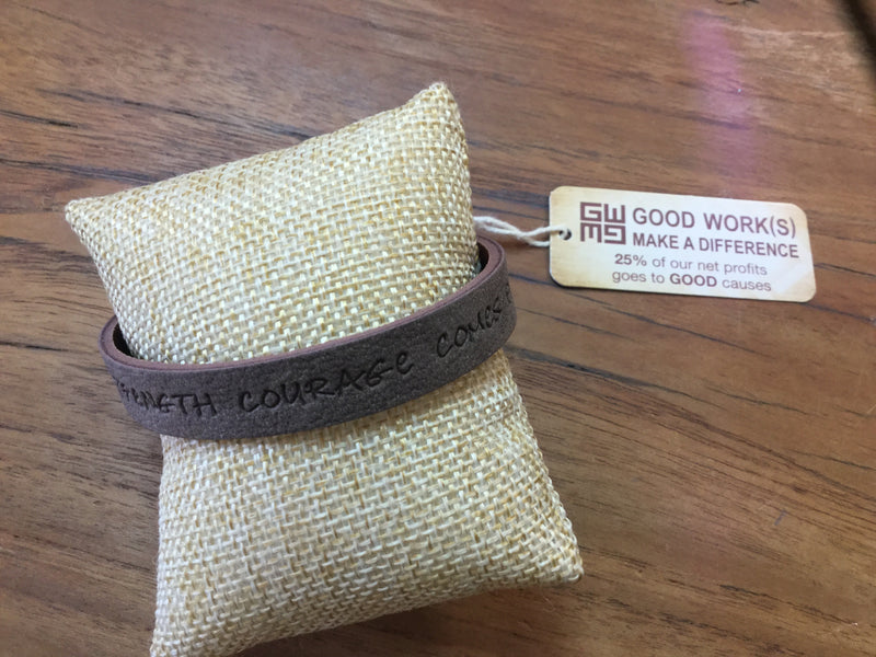 GW Strength Courage Comes From Within Bracelet
