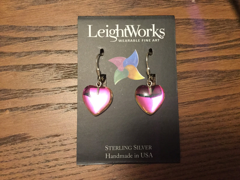 LeightWorks Heart Earrings