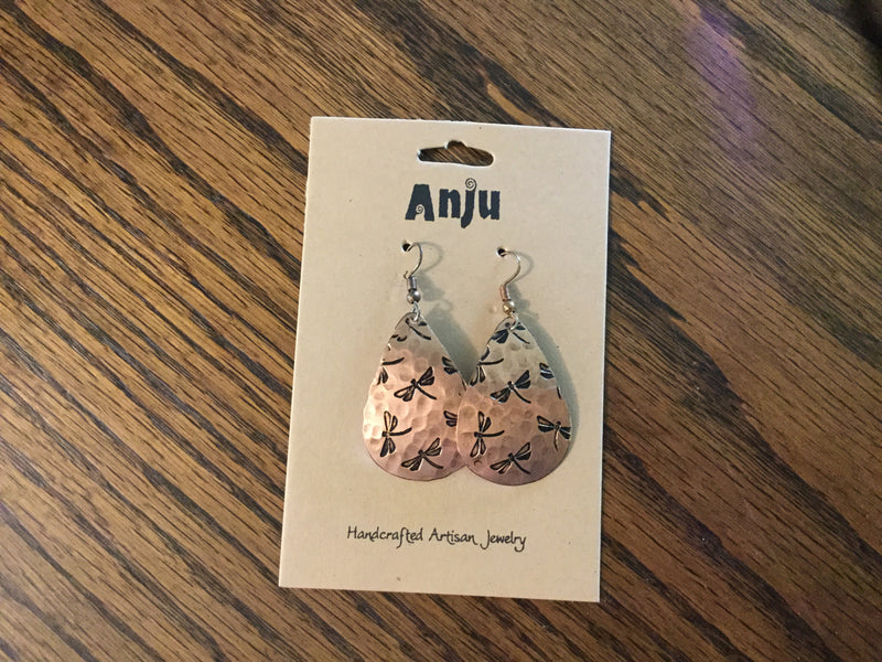 Anju metal earrings