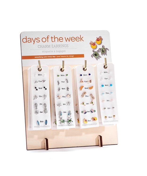 Days of the week Earrings