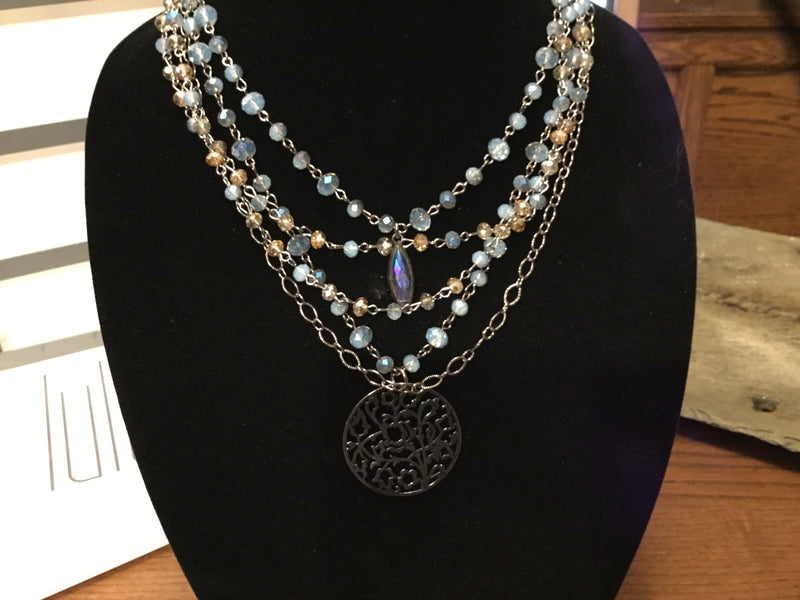 Carolina Necklace set- Lula n Lee