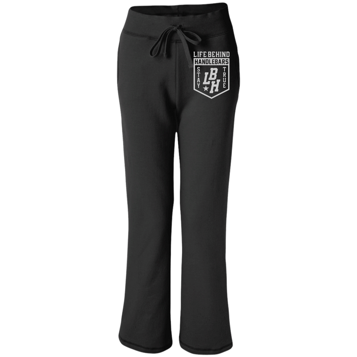 LBH Women's Open Bottom Sweatpants with Pockets