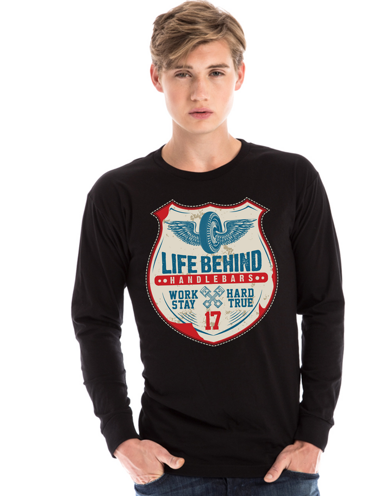 LBH Gas Station Sign Long Sleeve T