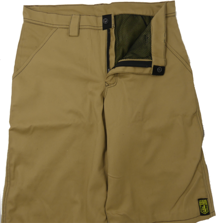 "CLUTCH RIDING APPAREL ""HOMEBOYZ"" Riding shorts with full Kevlar liner"