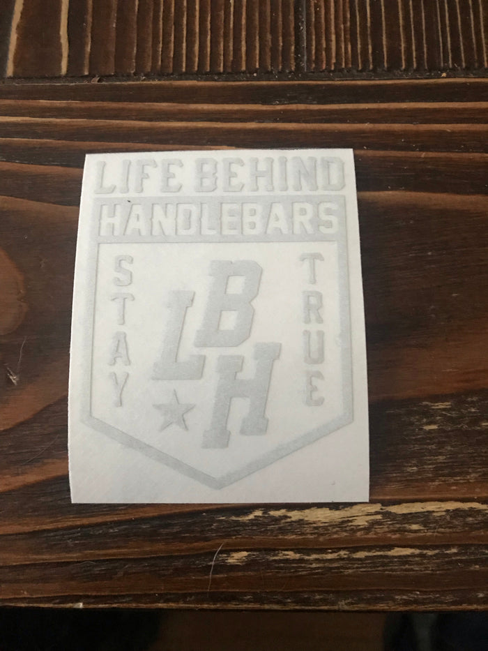 LBH logo reflective sticker