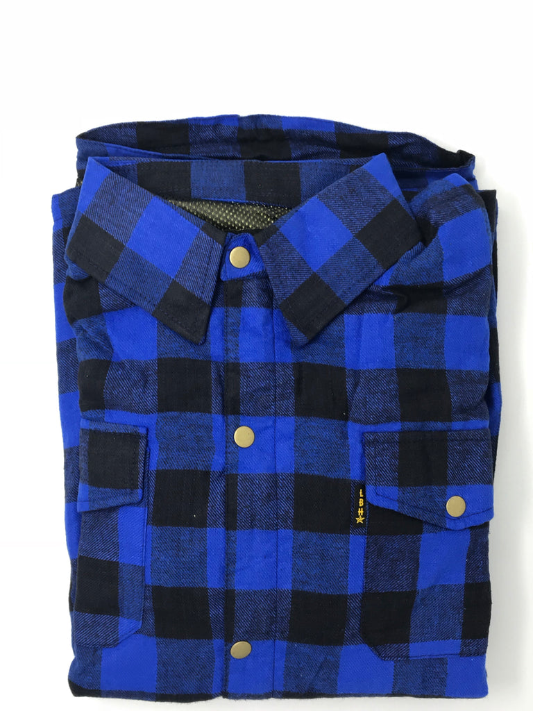 """LBH CLUTCH RIDING FLANNEL"" with Kevlar liner"