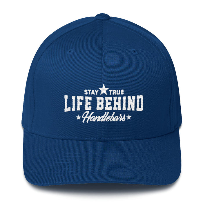 Life Behind Handlebars Flex-Fit Structured Twill Cap